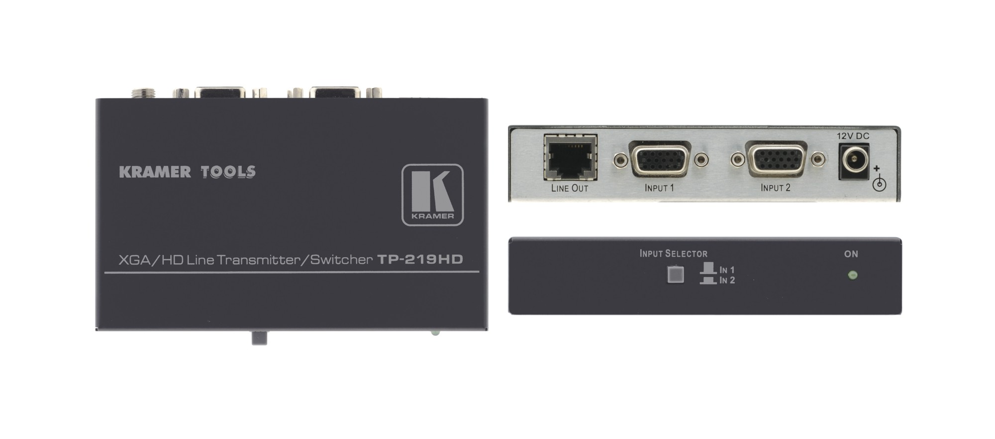 Kramer Electronics TP-219HD AV transmitter Black AV extender