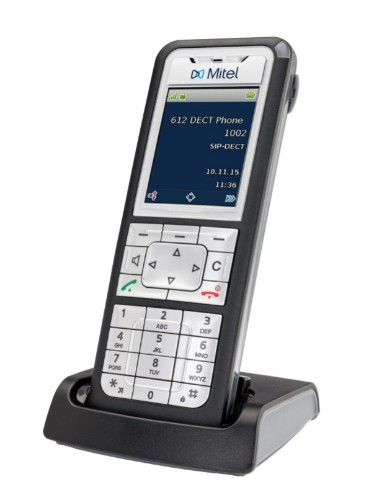 Mitel 612d DECT telephone Black,Silver