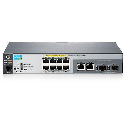 Hewlett Packard Enterprise 2530-8-PoE+ Managed L2 Fast Ethernet (10/100) Power over Ethernet (PoE) Grey