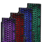Powercool MECH1 7 COLOUR LED MECHANICAL FEEL KEYBOARD