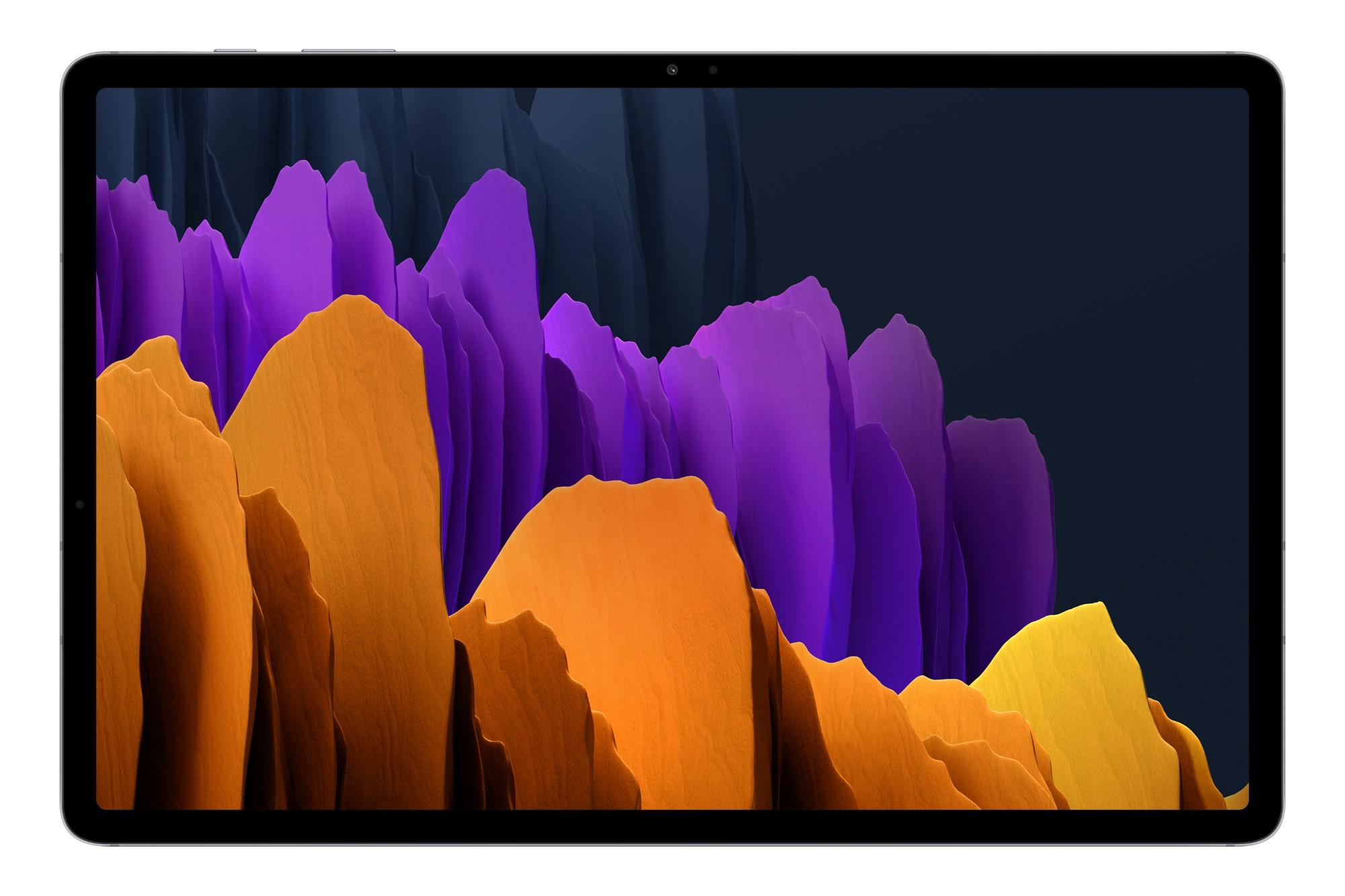 """Samsung Galaxy Tab S7+ SM-T970N 128 GB 31.5 cm (12.4"""") Qualcomm Snapdragon 6 GB Wi-Fi 6 (802.11ax) Android 10 Silver"""