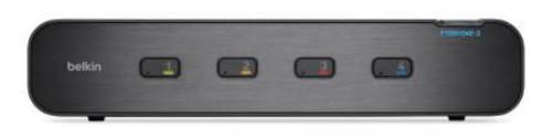 Belkin F1DN104E-3EA Black KVM switch