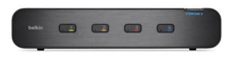 Advanced Secure 4-port Dual DVI-I KVM