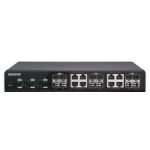 QNAP QSW-M1208-8C network switch Managed 10G Ethernet (100/1000/10000) Black