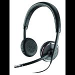 Plantronics Blackwire C520 Binaural Head-band Black headset