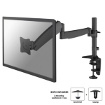 "Newstar FPMA-D950BLACK 30"" Black flat panel desk mount"
