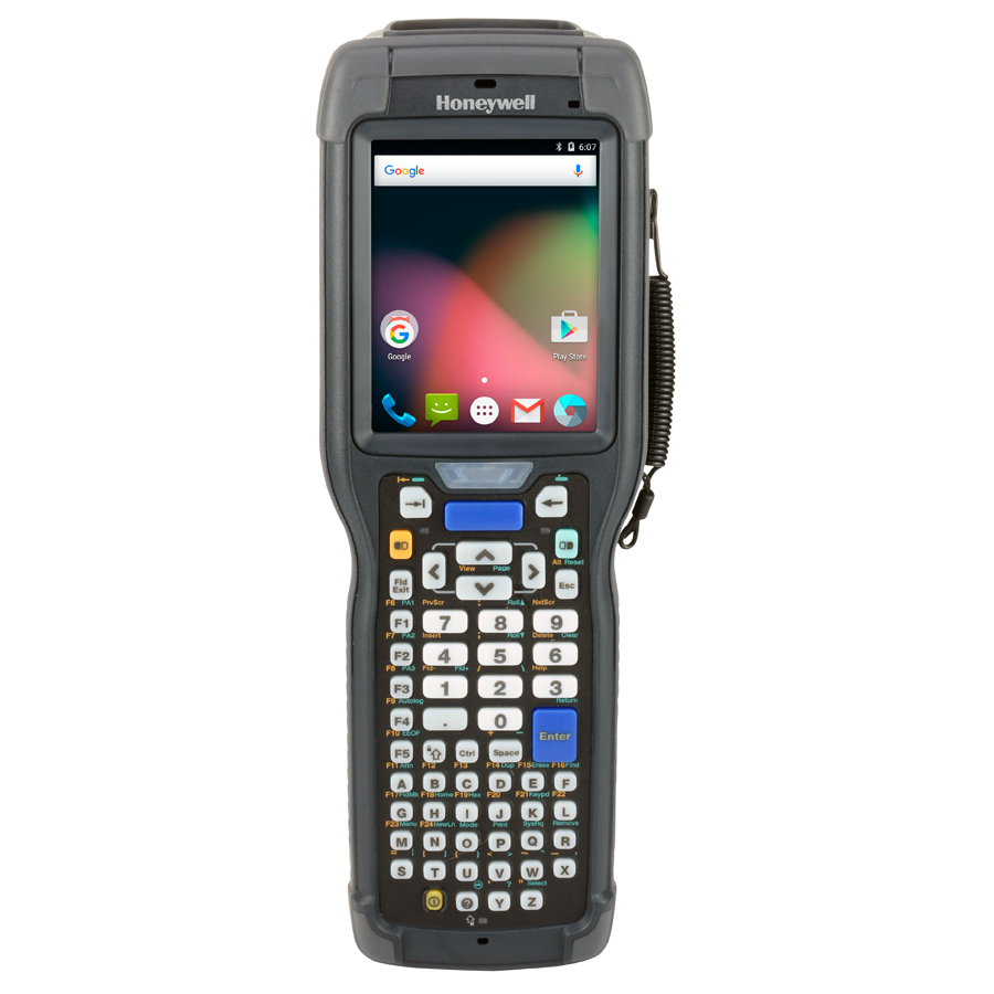 "Honeywell CK75 handheld mobile computer 8.89 cm (3.5"") 480 x 640 pixels Touchscreen 584 g Black"