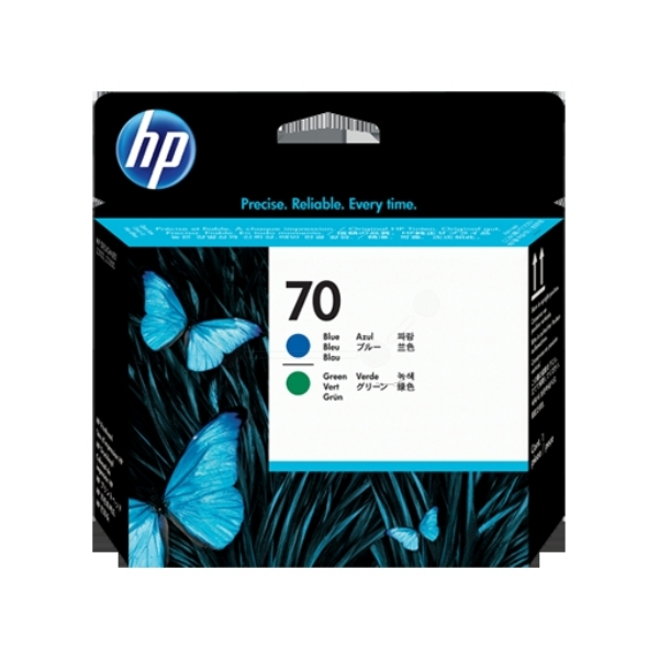 HP C9408A (70) Printhead blue, 130ml