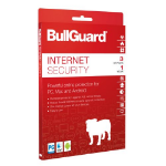 BullGuard Internet Security 2018 Retail, 3 User (10 Pack), Multi Device Licence, 1 Year