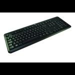 2-Power ALT3219A USB QWERTY UK English Black keyboard
