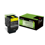 Lexmark 80C2XY0 (802XY) Toner yellow, 4K pages