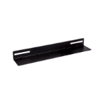LinkBasic 19' L Rail for 600mm Deep Cabinet only - Black - Comes In Single not Pair