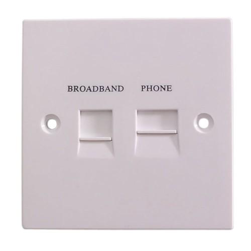Videk 4017BIP wall plate/switch cover White