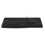 Logitech K120 for Business keyboard USB QWERTY US International Black