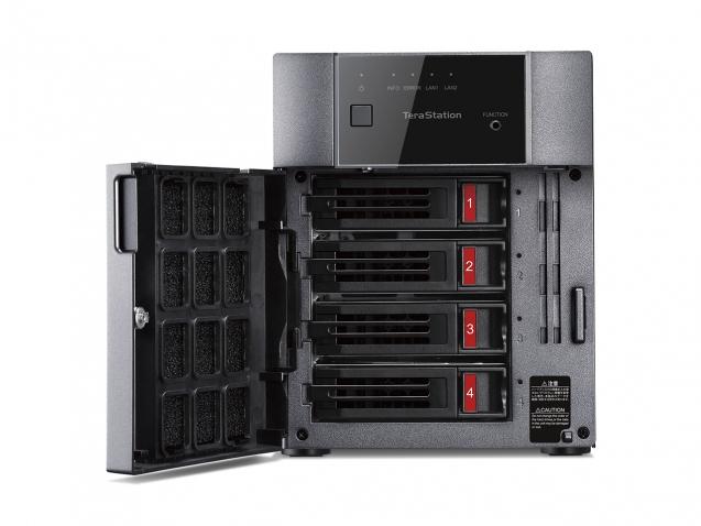 Buffalo TeraStation 3410DN NAS Desktop Ethernet LAN Black