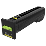 Lexmark 72K20Y0 Toner yellow, 8K pages