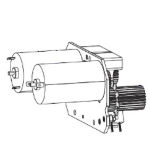 Zebra P1046696-136 printer/scanner spare part Drive gear Label printer