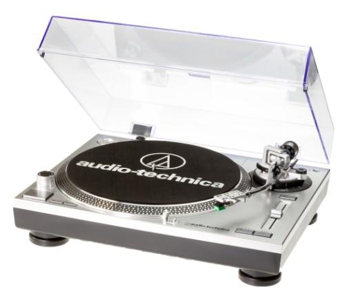 Audio-Technica AT-LP120-USBHC Belt-drive audio turntable Grey, Platinum, Black