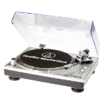 Audio-Technica AT-LP120-USBHC Belt-drive audio turntable Grey,Platinum,Black
