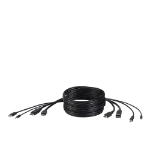 "Belkin F1DN2CC-HHPP6t KVM cable 70.9"" (1.8 m) Black"
