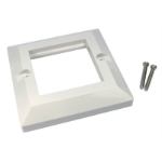Cables Direct AV-MODSF wall plate/switch cover White