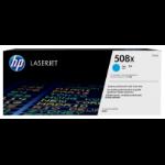HP 508X Origineel Cyaan 1 stuk(s)