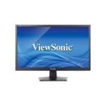 "Viewsonic Value Series VA2407H 23.6"" Full HD TN Matt Grey Flat computer monitor LED display"