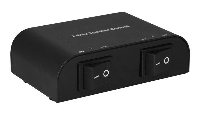 Microconnect MC-GEN-267 audio switch Black