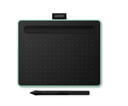 Wacom Intuos S Bluetooth graphic tablet 2540 lpi 152 x 95 mm USB/Bluetooth Green,Black
