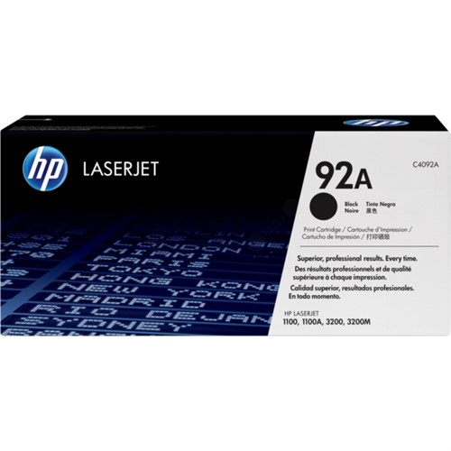 HP C4092A (92A) Toner black, 2.5K pages