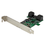 StarTech.com Port multiplier controller card - 5-port SATA to single SATA III