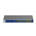 Netgear GS524UP Unmanaged Gigabit Ethernet (10/100/1000) Power over Ethernet (PoE) Grey
