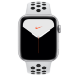Apple Watch Nike Series 5 OLED 44 mm Silver GPS (satellite)