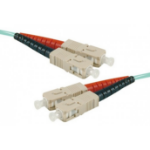 Hypertec 391541-HY fibre optic cable 2 m LSZH OM3 SC Aqua