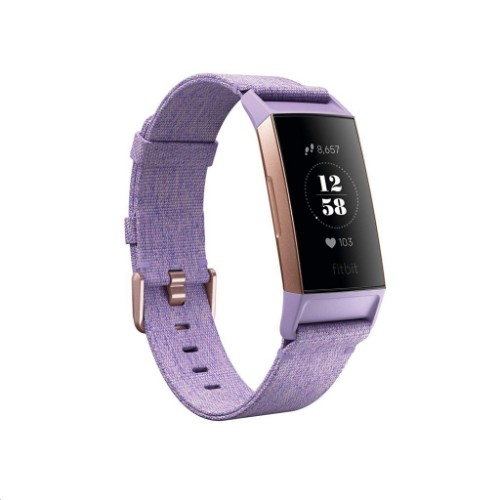 Fitbit Charge 3 Wristband activity tracker Rose Gold OLED Wired & Wireless
