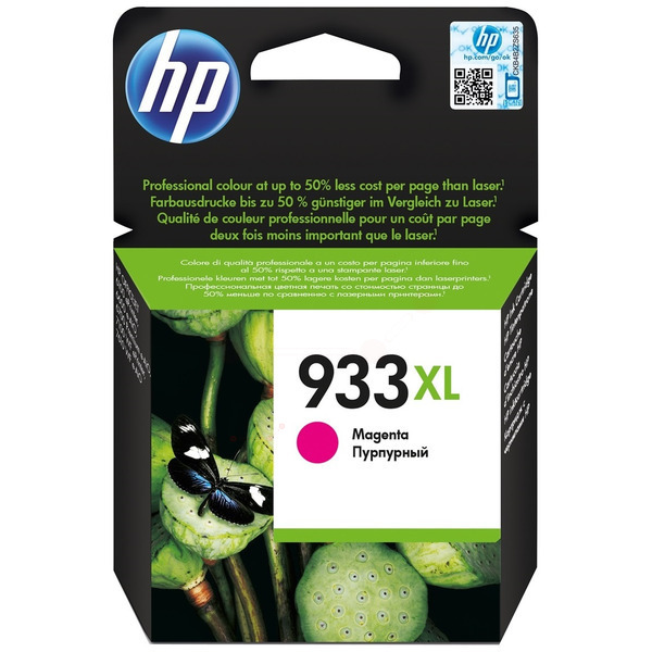 HP CN055AE301 933XL Ink cartridge magenta, 825 pages, 9ml