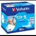 Verbatim CD-R AZO Wide Inkjet Printable 700 MB 10 pc(s)
