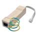Tripp Lite DTEL2 120-230V Beige surge protector