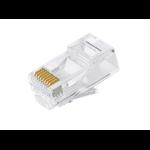 Astrotek CAT6 UTP -RJ45 Connector 8P8C Network Plug 3 Prong Blade 3U'  Gold plating (50pcs/bag)