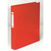 Elba 400001511 ring binder PVC Red