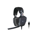 Logitech G35 USB Binaural Head-band Black headset