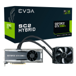 EVGA 11G-P4-6598-KR GeForce GTX 1080 11GB GDDR5X graphics card