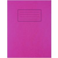 Silvine 9X7 EXER BOOKS FEINT MARGIN RED