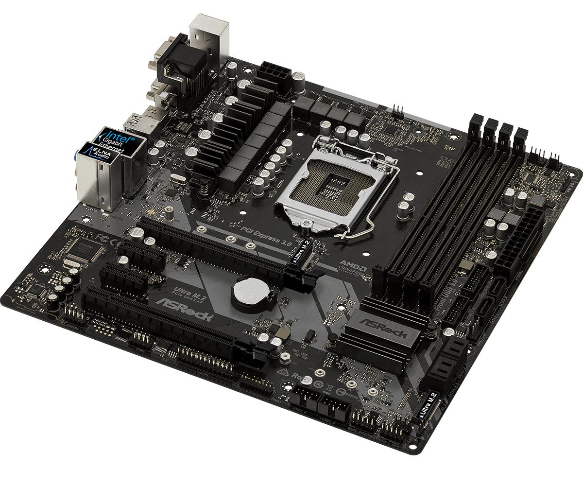 Asrock Z370M Pro4 LGA 1151 (Socket H4) Micro ATX motherboard