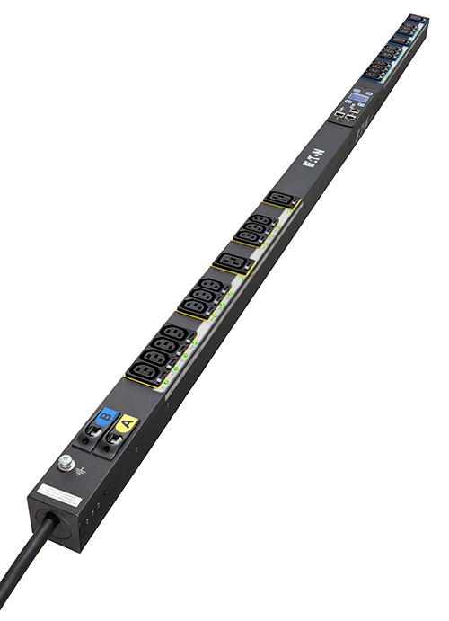 Eaton ESWB03 unidad de distribución de energía (PDU) 0U Negro 16 salidas AC