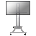 "Newstar Mobile LFD/Monitor/TV Trolley for 27""-70"" Screen , Height Adjustable - Silver"