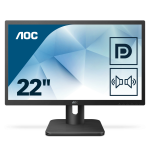 AOC Essential-line 22E1Q PC Flachbildschirm 54,6 cm (21.5 Zoll) 1920 x 1080 Pixel Full HD LED Schwarz