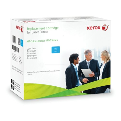 Xerox 003R99737 compatible Toner cyan, 10K pages @ 5% coverage (replaces HP 643A)