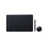 Wacom Intuos Pro 5080lpi 224 x 148mm USB/Bluetooth Black graphic tablet PTH-660-N