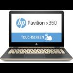 "HP Pavilion x360 13-u105na 2.4GHz i3-7100U 13.3"" Touchscreen Gold,Silver"
